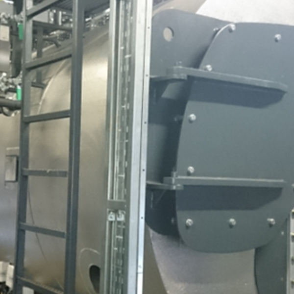 Installation of dual fired boiler at Procter & Gamble